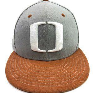 NCAA Oregon Ducks Hat NEW ERA Size 7 3/8